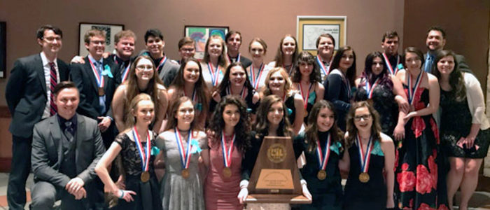 KISD: TCHS One-Act Finishes 3Rd At State Meet