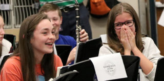 GCISD: CMS Honors Band Receives Invitation