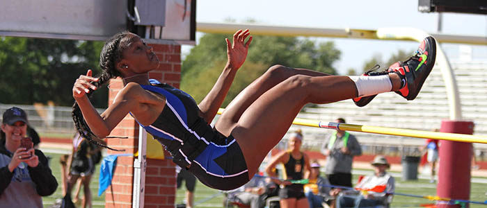 NISD: Byron Nelson alumna Sanaa Barnes finishes second at US Track & Field Junior Championships