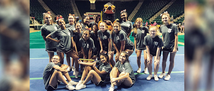 HEB ISD: Cheer Team Brings Awards and High Ratings Back to Harwood Junior High
