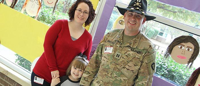 NISD: Army captain surprises daughter at Nance with return