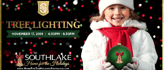 Experience the Magic of Southlake at the 2018 Home for the Holidays Tree Lighting Celebration