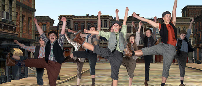 Disney's Newsies Playing at Artisan Center Theater