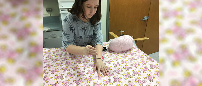 HEB ISD: Euless Jr. High's Sewing & Service Club