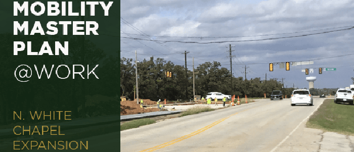Southlake: Council Approves Engineering Services Agreement for Phase II for N. White Chapel Widening Project