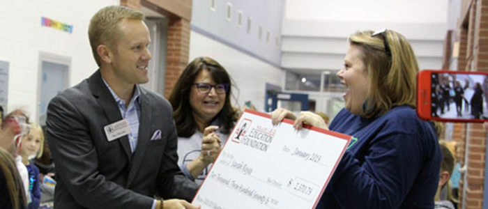 KISD: Education Foundation Surprises 29 Educators With More Than $100K In Grant Funding