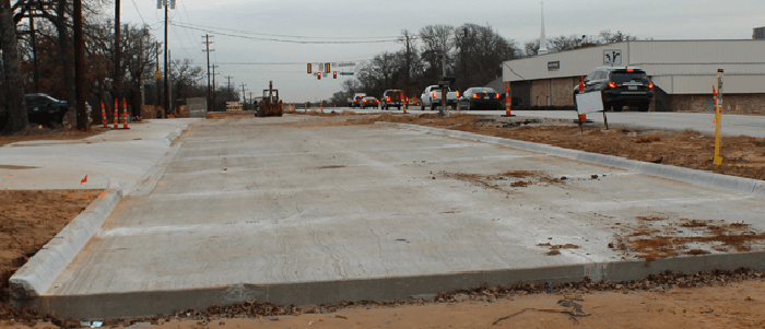Southlake: 2019 Brings More Progress on N. White Chapel Widening Project