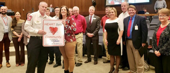 City of Fort Worth recognized as a HEART Safe Community