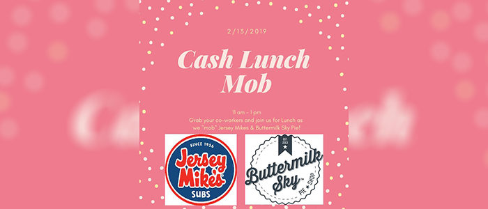 Colleyville: Cash Lunch Mob