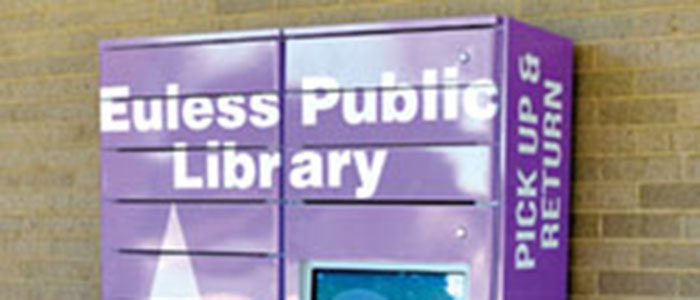 Euless: Discover the Library's New Book Locker