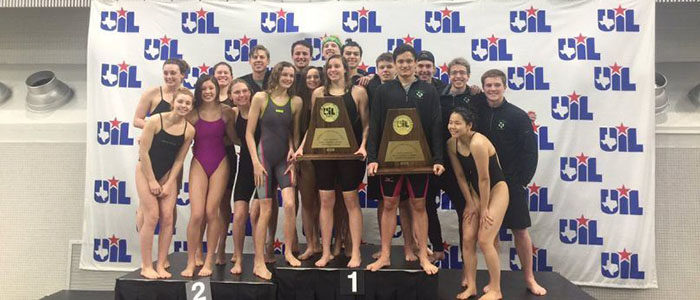 CISD: Dragon Swim and Dive Sweeps State Meet