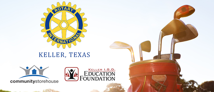 Keller Rotary's 13th Annual Golf Tournament May 7th at Sky Creek Ranch