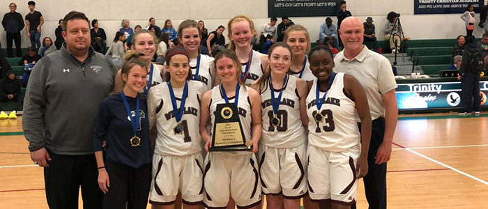 Westlake Academy Women's Hoops Team Wins Fourth Straight State Title