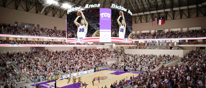 Fort Worth: Dickies Arena to house second largest continuous video display in the nation