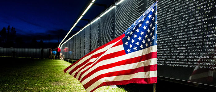 """Lewisville: """"The Wall That Heals"""" visit"""
