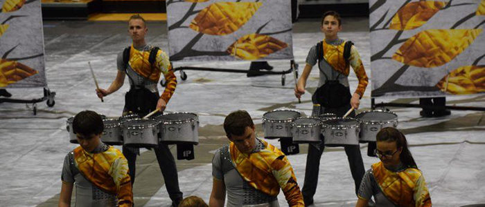 Carroll Indoor Percussion Wins First Place at NTCA