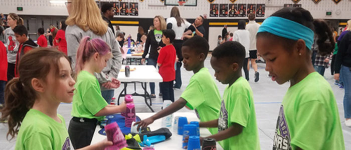KISD: Students Shine At District Cupstacking Tournament