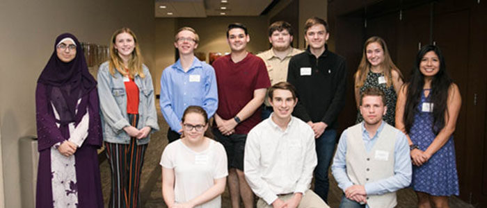 2019 HEB Youth in Government Graduates