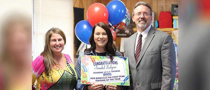 BISD's 2019 First-Year Teacher of the Year Announced