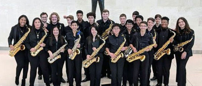 KISD: TCHS Saxophone Ensemble Selected To Perform At 2019 Midwest Clinic