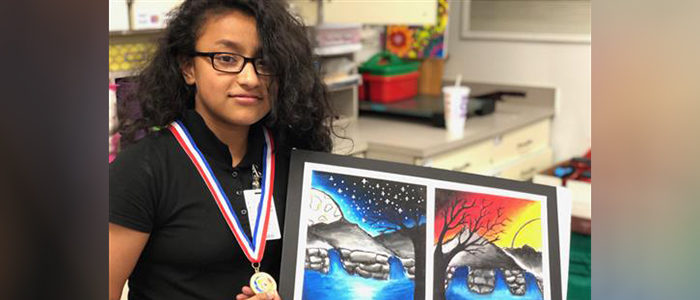 Irving ISD: Elementary Artists Excel in State Competition