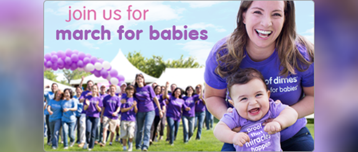 Join Team Tarrant County – March for Babies!