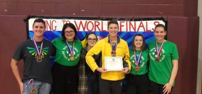 Carroll Odyssey of the Mind Teams are World Championship Bound