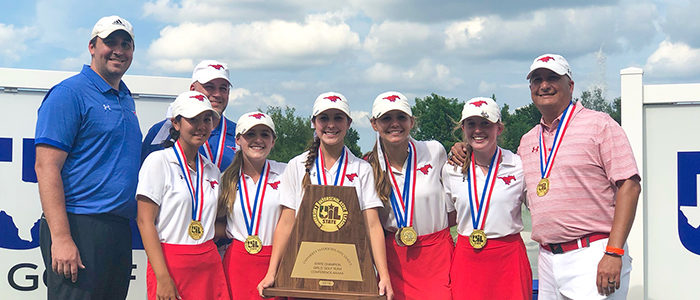 GCISD: GHS Girls Golf Completes Three-Peat