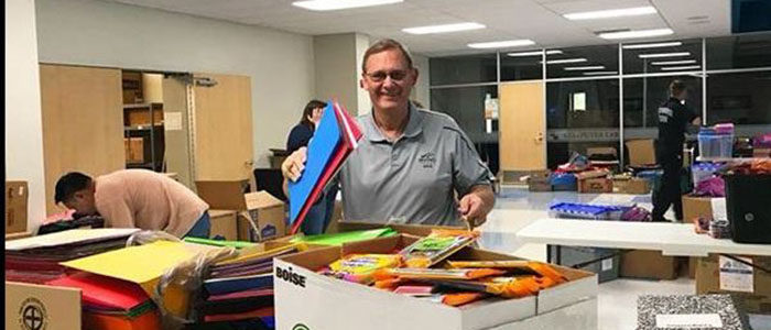 City, Irving Fire Department Team Up for Supplies for Success