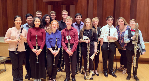 KELLER/CENTRAL CLARINET CHOIR SELECTED TO PERFORM AT TMEA