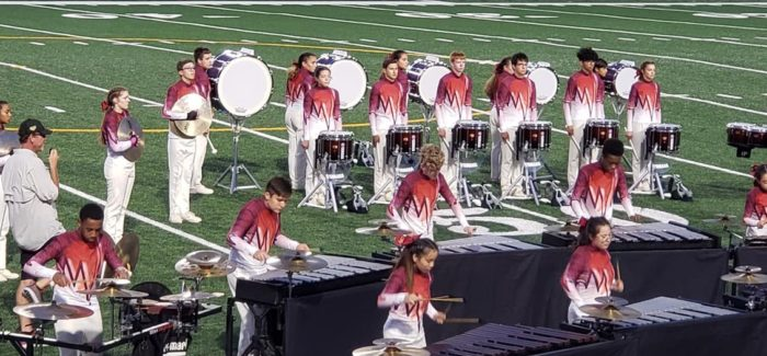 CENTRAL HS DRUM LINE TAKES THIRD AT PLANO CONTEST