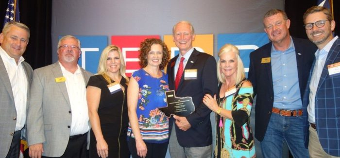 Colleyville Receives Community Economic Development Award from TEDC