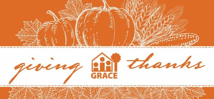 Giving Thanks for Your GRACE