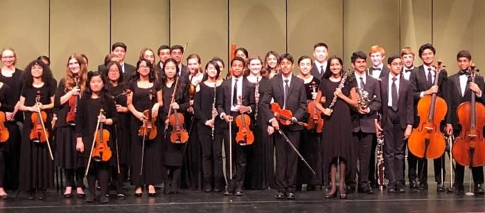 """The Lone Star Youth Orchestra invites you to join us for """"Concertos and Carols"""" on December 6, 2019 at 6:30 p.m. during the Irving Arts Center's Holiday Open House."""