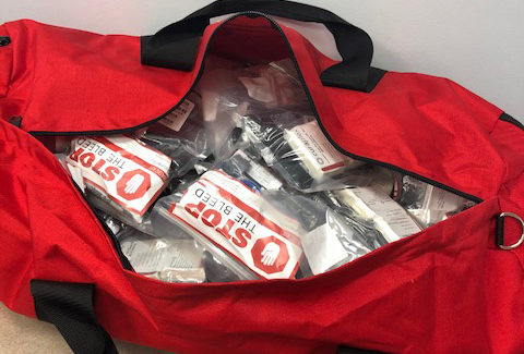 MedStar implements field-deployable stop-the-bleed kits