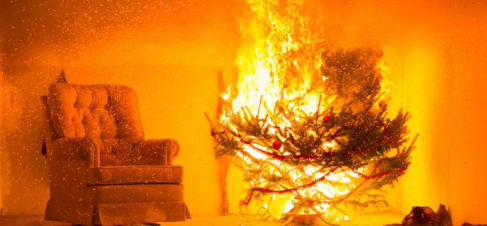 Enjoy the holiday season with fire safety in mind
