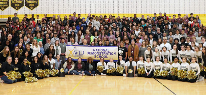 FRHS RECOGNIZED AS CONTINUING AVID NATIONAL DEMONSTRATION SCHOOL
