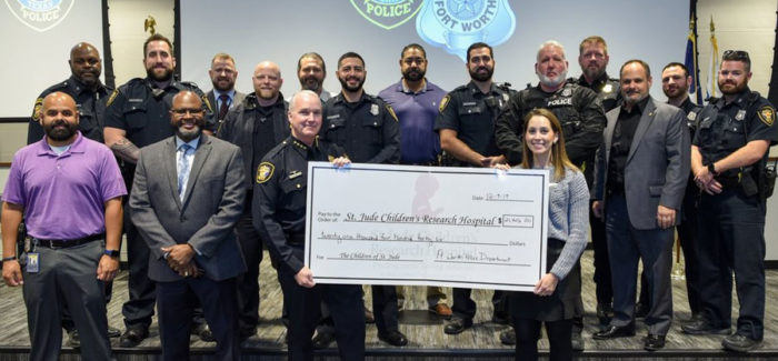 Beards for a cause: Police officers contribute to children's charity