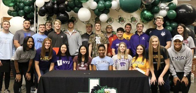 CISD – Twenty Three Dragons Sign National Letters of Intent