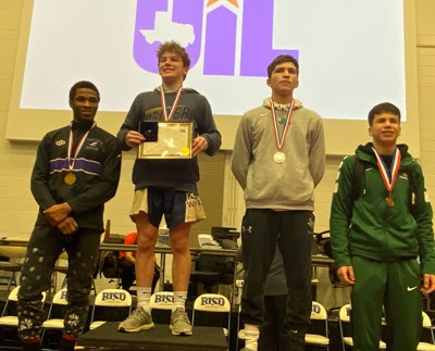KISD – THREE WRESTLERS WIN REGIONALS; 11 QUALIFY FOR STATE