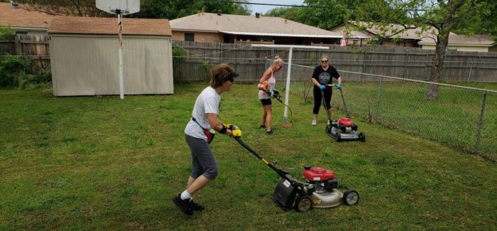 Mid-Cities Care Corps is Actively Seeking Adopt-a-Lawn Volunteers