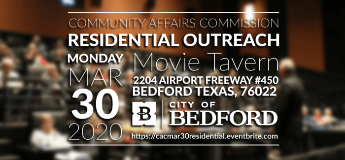 Bedford – Residential Outreach