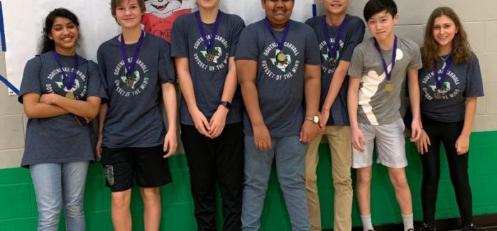 Carroll Odyssey of the Mind Teams Leap to State
