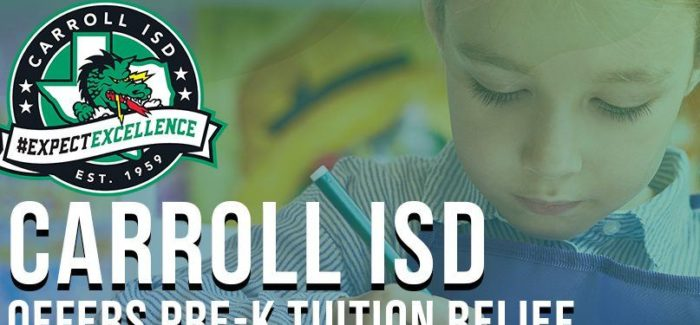 Carroll ISD Offers Tuition Relief for Pre-K Families