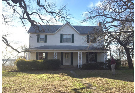 Historic Roberson Farmhouse to be Moved To a New Site in the Historic Grapevine Township!