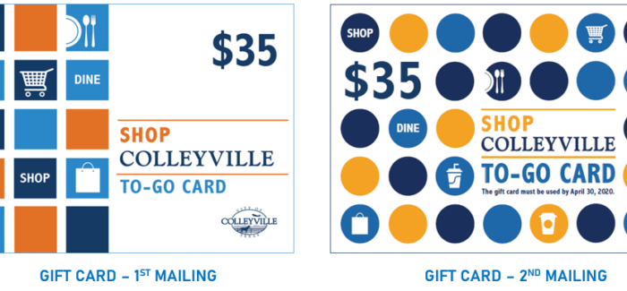 Use Your $35 Colleyville To-Go Gift Cards by April 30