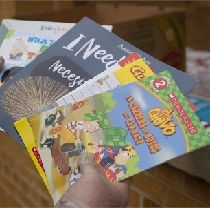 Free books available for elementary students at Meals to Go sites