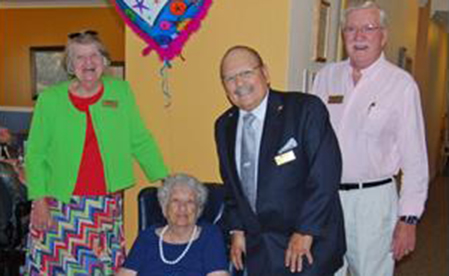 City Honors Watauga Resident Alice McElfresh Dillow on Her 100th Birthday