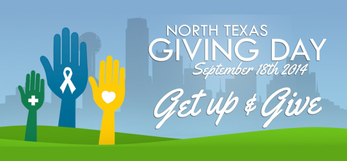 Get up and give!