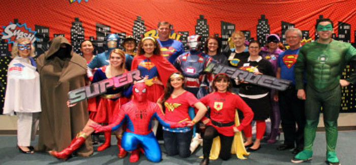 HEB ISD Superheroes to the Rescue